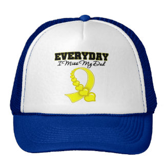 Everyday I Miss My Dad Military Trucker Hat