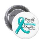 Everyday I Miss My Daughter-in-Law Ovarian Cancer Buttons