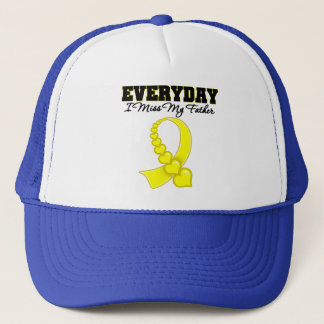 Everyday I Miss My Father Military Trucker Hat