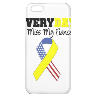 Everyday I Miss My Fiancé Military Case For iPhone 5C