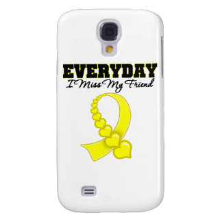 Everyday I Miss My Friend Military Galaxy S4 Cases