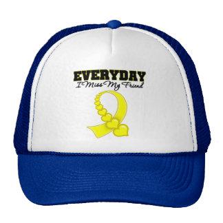 Everyday I Miss My Friend Military Trucker Hat