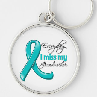 Everyday I Miss My Grandmother Ovarian Cancer Key Chains