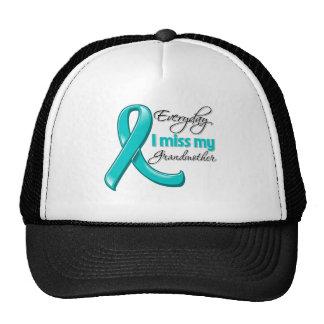 Everyday I Miss My Grandmother Ovarian Cancer Trucker Hat
