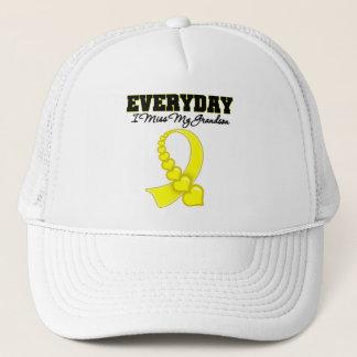 Everyday I Miss My Grandson Military Trucker Hat