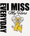 Everyday I Miss My Hero COPD Tee Shirt