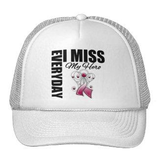 Everyday I Miss My Hero Head Neck Cancer Trucker Hats