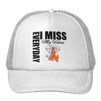 Everyday I Miss My Hero Kidney Cancer Trucker Hat