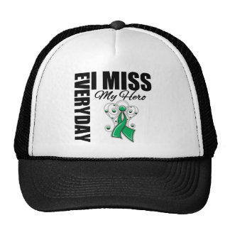 Everyday I Miss My Hero Liver Cancer Trucker Hat