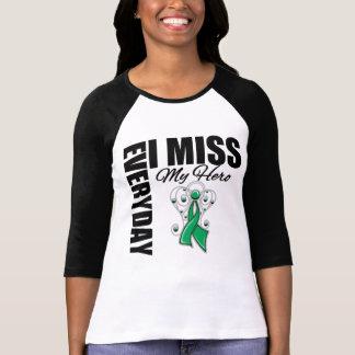 Everyday I Miss My Hero Liver Cancer Shirt
