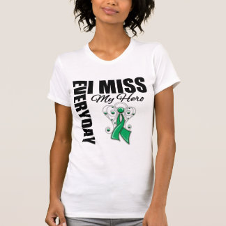 Everyday I Miss My Hero Liver Cancer T-shirts
