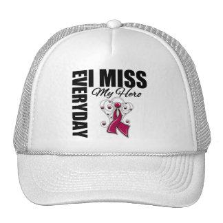 Everyday I Miss My Hero Multiple Myeloma Trucker Hat