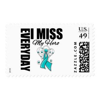 Everyday I Miss My Hero Ovarian Cancer Postage