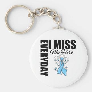 Everyday I Miss My Hero Prostate Cancer Key Chains