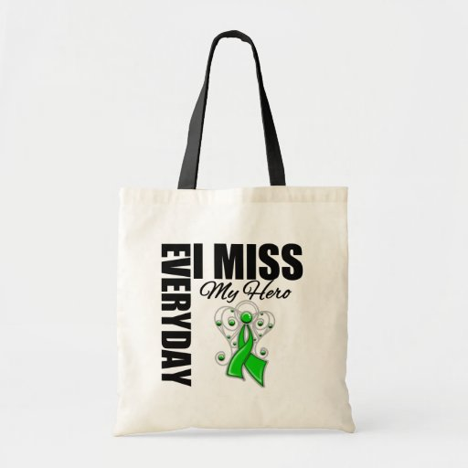 Everyday I Miss My Hero Spinal Cord Injury Tote Bags