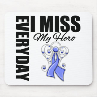 Everyday I Miss My Hero Stomach Cancer Mouse Pad