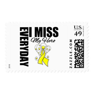 Everyday I Miss My Hero Suicide Prevention Postage Stamps
