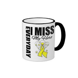 Everyday I Miss My Hero Suicide Prevention Ringer Mug