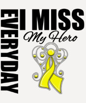 Everyday I Miss My Hero Suicide Prevention Tshirts