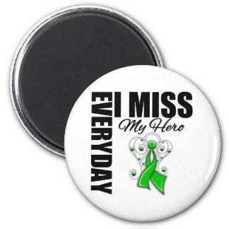 Everyday I Miss My Hero Traumatic Brain Injury 2 Inch Round Magnet