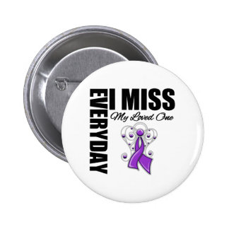 Everyday I Miss My Loved One Domestic Violence Buttons