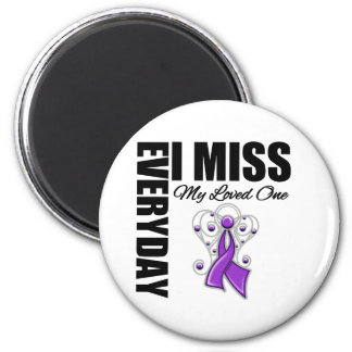 Everyday I Miss My Loved One Domestic Violence Refrigerator Magnets