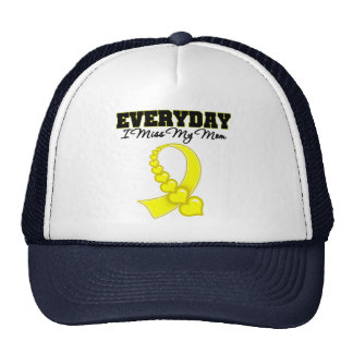 Everyday I Miss My Mom Military Trucker Hat