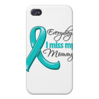 Everyday I Miss My Mommy Ovarian Cancer iPhone 4/4S Cover