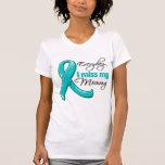 Everyday I Miss My Mommy Ovarian Cancer Tshirts