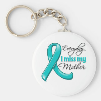 Everyday I Miss My Mother Ovarian Cancer Key Chains