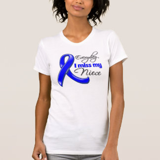 Everyday I Miss My Niece Colon Cancer Shirt