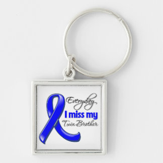 Everyday I Miss My Twin Brother Colon Cancer Key Chains