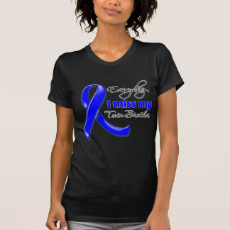 Everyday I Miss My Twin Brother Colon Cancer Tshirts