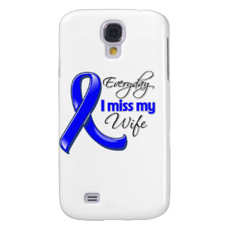 Everyday I Miss My Wife Colon Cancer Galaxy S4 Case