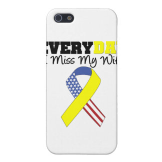 Everyday I Miss My Wife Military Cover For iPhone SE/5/5s