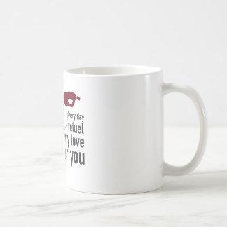 Everyday I Refuel My Love will be you Mug