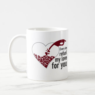 Everyday I Refuel My Love will be you Mugs