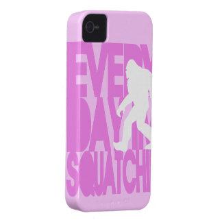 Everyday I'm Squatchin' Pink iPhone 4 Case-Mate Case