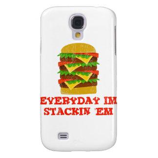 Everyday Im Stackin 'EM Samsung Galaxy S4 Cover
