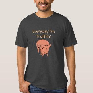 Everyday I'm Trufflin' Pig Tee
