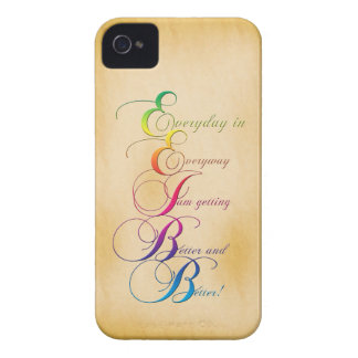 Everyday in Everyway Affirmation Blackberry Case