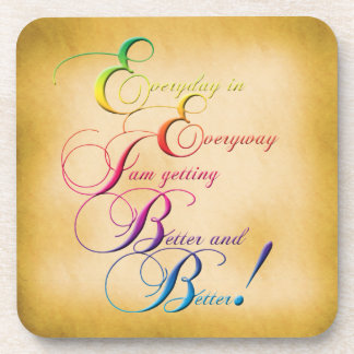 Everyday in Everyway Affirmation Coaster Set