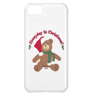 Everyday Is Christmas! ChristmasTeddy Bear iPhone 5C Cover