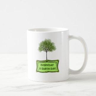 EVERYDAY IS EARTH DAY COFFEE MUG