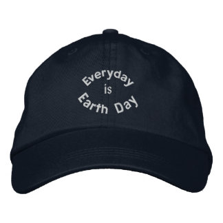 Everyday is Earth Day Embroidered Baseball Cap