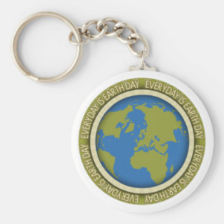 Everyday is Earth Day Key Chain