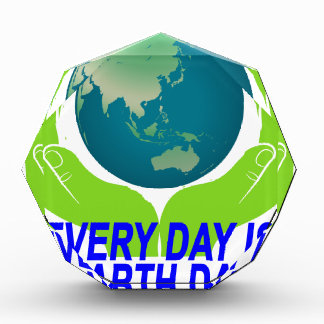 EVERYDAY IS EARTH DAY.png Acrylic Award