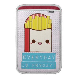 Everyday is Fryday! MacBook Air Sleeves