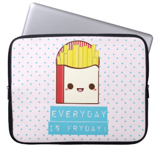 Everyday is Fryday! Laptop Sleeve