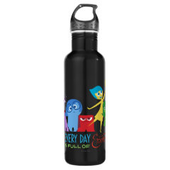 Everyday is Full of Emotions 24oz Water Bottle